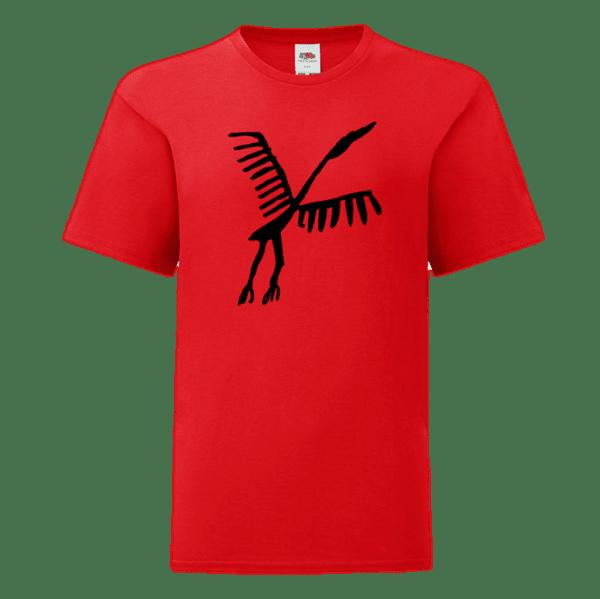 Детска Тениска Антична Птица