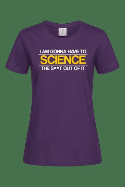Дамска Тениска SCIENCE