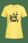 Дамска Тениска String Theory