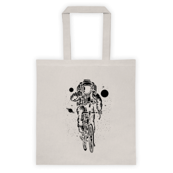 Памучна еко чанта Велосипедист