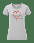 Дамска Тениска Любовно Уравнение