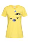Дамска Тениска Планети