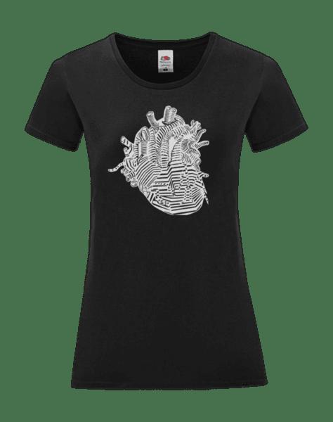 Дамска Тениска Анатомично Сърце