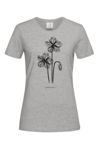 Дамска Тениска Рентгеново цвете: Здравец