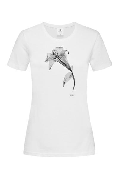 Дамска Тениска Рентгеново цвете: Лилиум