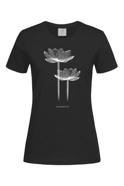 Дамска Тениска Рентгеново цвете: Лютиче