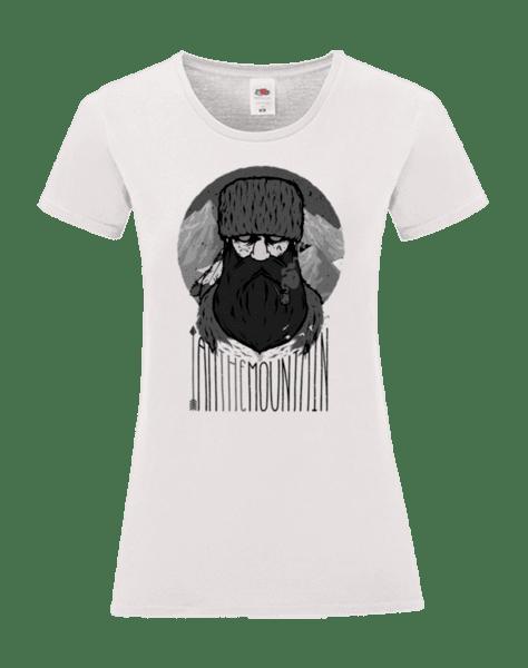 """Дамска Тениска """"Аз съм планината"""""""