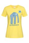 Дамска Тениска Слон