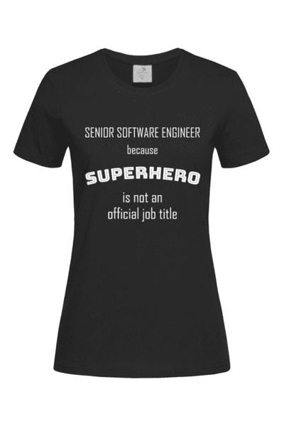 Дамска тениска Супергерой!