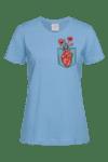 Дамска Тениска Сърце в Джоба
