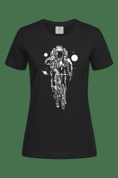 Дамска Тениска Велосипедист
