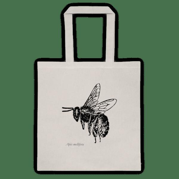 Памучна еко чанта  Пчела (Apis mellifera)