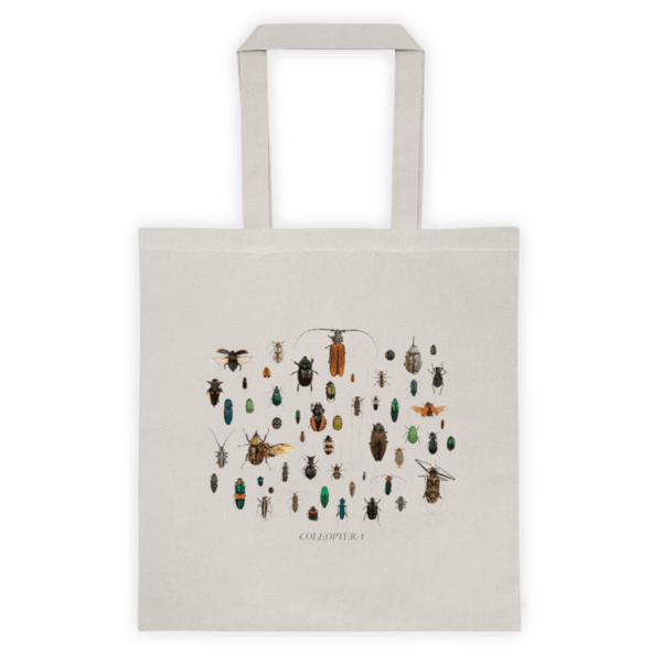 """Памучна еко чанта """"Твърдокрили (Coleoptera)"""""""
