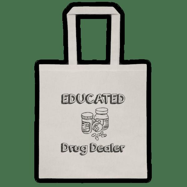 "Памучна еко чанта ""Educated Drug Dealer"""