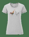 Дамска Тениска Кокоша Любов