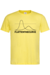 Мъжка Тениска Да изравним кривата