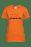 Дамска Тениска Да изравним кривата