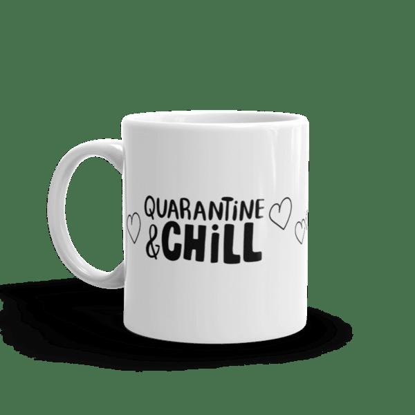 "Чаша ""Quarantine & chill"""