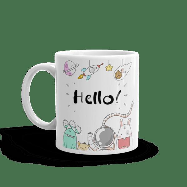 """Чаша """"Hello"""""""