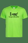 Мъжка тениска E=mc2