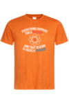 Мъжка тениска Физика