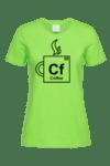 Дамска тениска Кафе