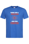 Мъжка тениска Stay positive
