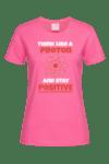 Дамска тениска Stay positive