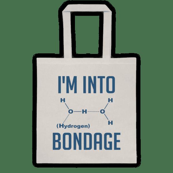 """Памучна еко чанта """"Bondage"""""""
