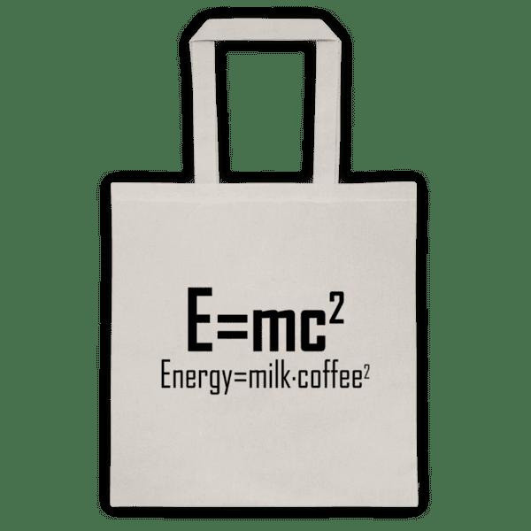 """Памучна еко чанта """"E=mc2"""""""
