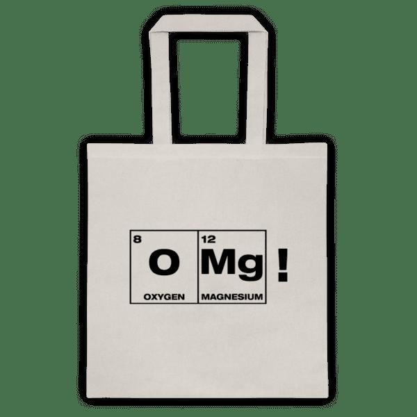 """Памучна еко чанта """"OMg"""""""