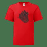 """Детска тениска """"Анатомично сърце"""""""