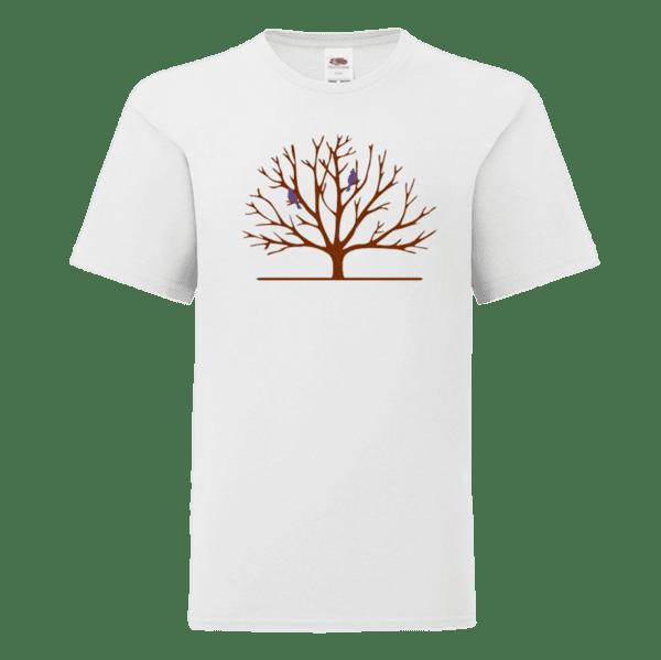 """Детска тениска """"Дръвче с птици"""""""