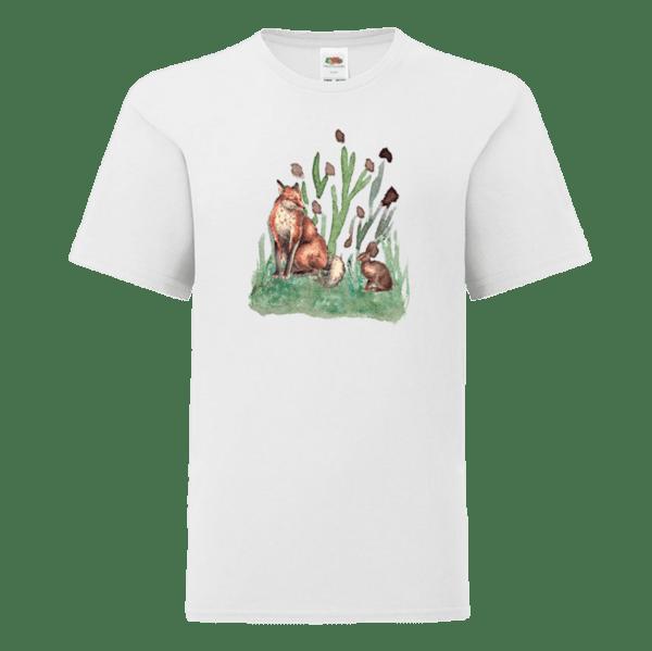 """Детска тениска """"Лисица и заек"""""""