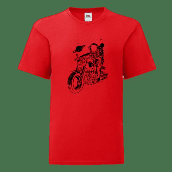 """Детска тениска """"Със скоростта на светлината"""""""