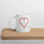 "Чаша ""Любовно уравнение"" - умалена версия"