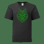 """Детска тениска """"Геометричен вълк"""""""