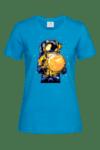 """Дамска тениска """"Астронавт и Луна"""""""