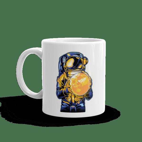 """Чаша """"Астронавт и Луна"""""""