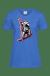 """Дамска тениска """"Космоскейт"""""""