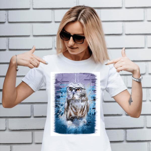 """Дамска тениска """"Сова"""""""