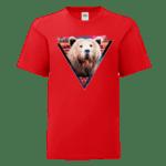 """Детска тениска """"Хипстър мечок"""""""