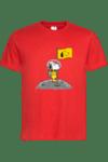 """Мъжка тениска """"Снупи на Луната"""""""