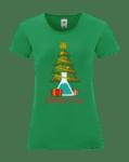 """Дамска тениска """"Научна елха"""""""