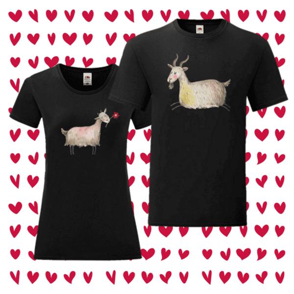 Комплект Тениски Козя любов