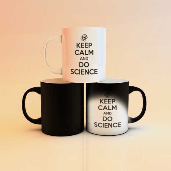 "Магическа чаша ""Keep calm and do science"""