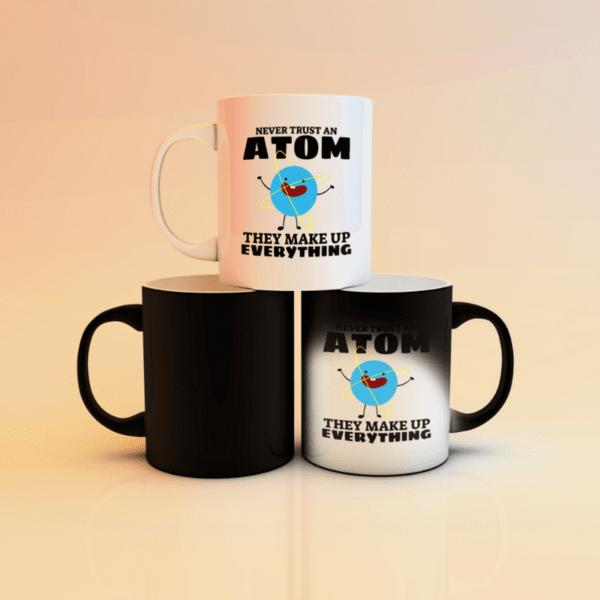 "Магическа чаша ""Never trust an atom"""
