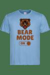 """Мъжка тениска """"Bear mode on"""""""