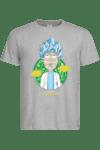 """Мъжка тениска """" I'm Just Saiyantist"""""""