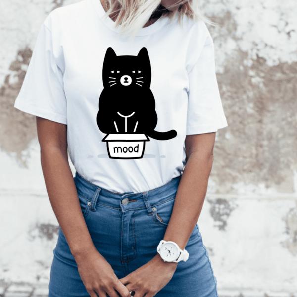 """Дамска тениска """"Mood"""""""